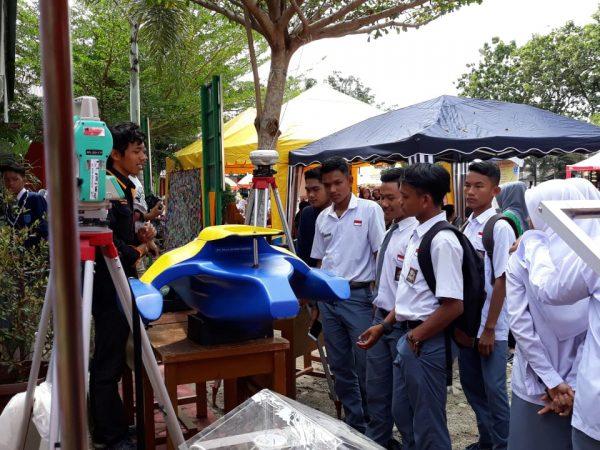 Geodesi aktif dalam Kegiatan Expo