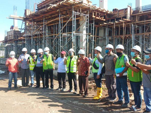 Kementerian PUPR Monitoring Pengerjaan Kampus II ITP